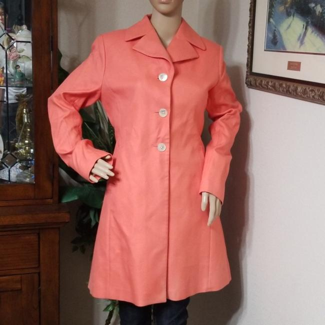 Item - Coral Single Breasted Coat Size 8 (M)