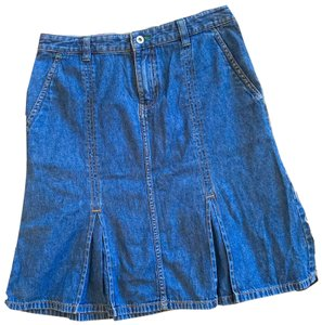 Eddie Bauer Skirt blue
