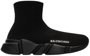 Balenciaga Speed Sock Trainers Dad Sneakers Black Athletic