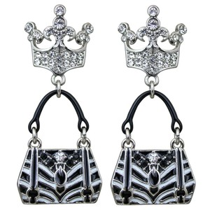 Ritzy Couture by Esme Hecht Crown & Handbag Shopping (Silvertone) Post