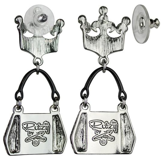 Ritzy Couture by Esme Hecht Crown & Handbag Shopping (Silvertone) Post Image 1