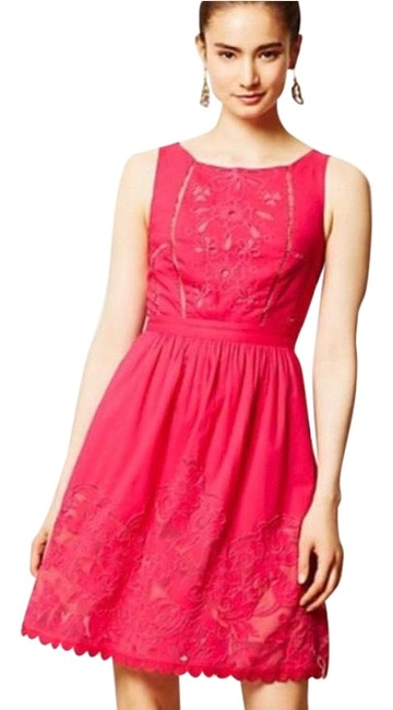 Item - Hot Pink Rhododendron Short Casual Dress Size 0 (XS)