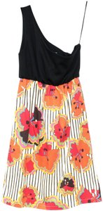 Judith March short dress One Shoulder Floral Sleeveless on Tradesy