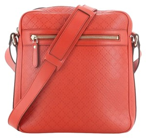 Gucci Leather red Messenger Bag
