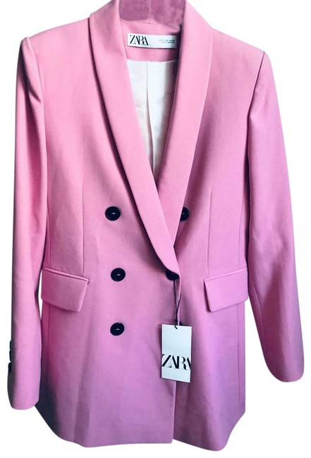 Item - Pink Double Breasted Large Ref. 2005/703 Blazer Size 12 (L)
