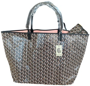 Goyard St Louis Pm Tote in Black
