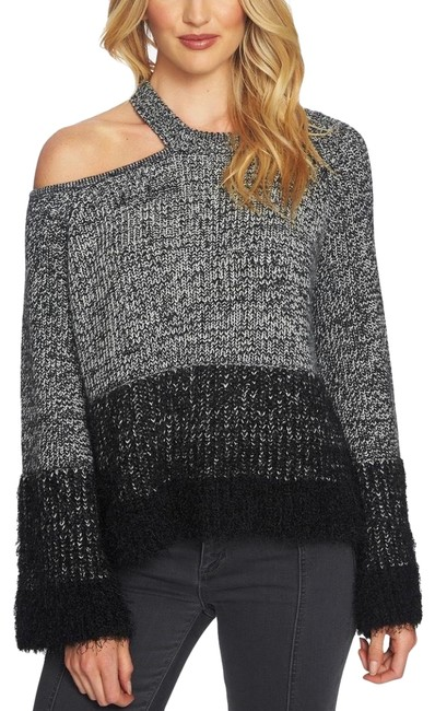 1.STATE One Shoulder Pullover/Sz:m/Nwt Black Sweater 1.STATE One Shoulder Pullover/Sz:m/Nwt Black Sweater Image 1