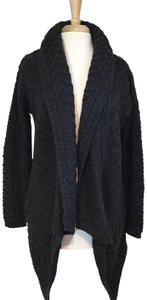 Aran Crafts Wool Coat Jacket Sweater