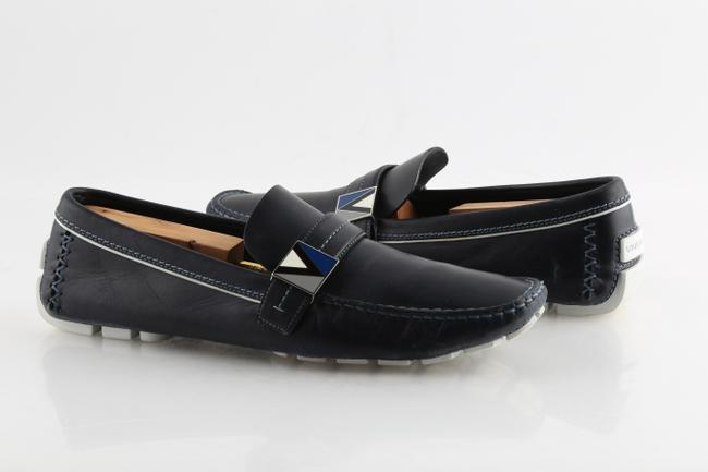 Item - Blue America's Cup Driving Loafers Shoes