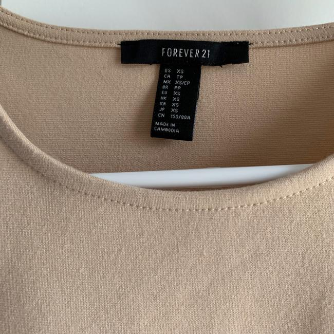 Forever 21 Top Tan Image 1