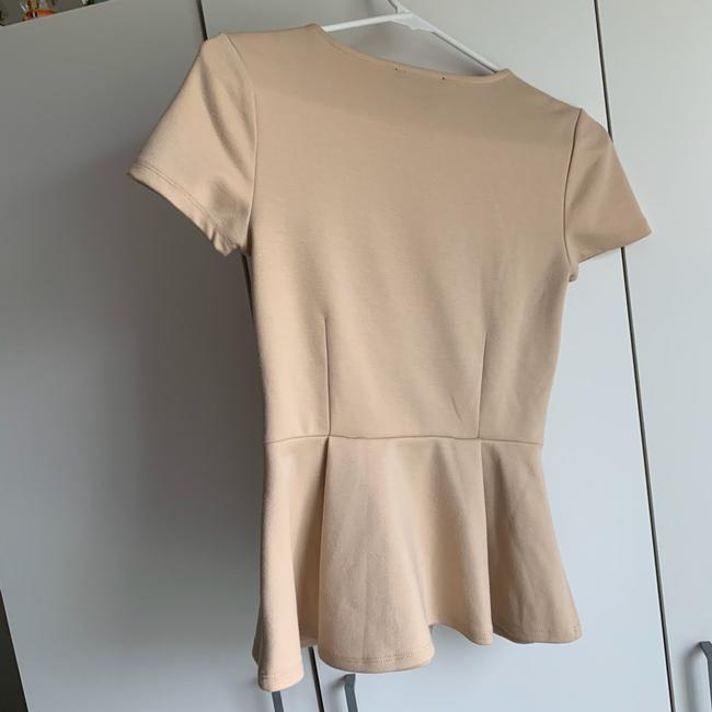 Forever 21 Top Tan Image 2