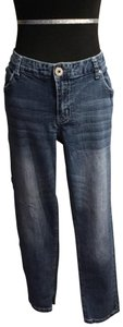 Ariya Jeans Straight Leg Jeans-Medium Wash