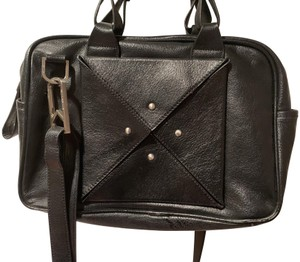 Allibelle Satchel Pebbled Leather Shoulder Bag