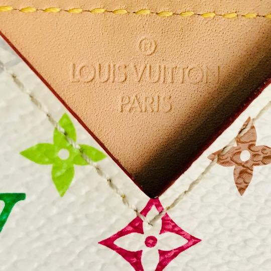 Louis Vuitton Multicolor Monogram Card Holder Wallet Image 2