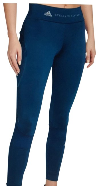 Item - Teal Blue Coated Performance Essentials Ankle Length Tights Jeggings Size 28 (4, S)