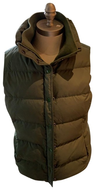Item - Military Green Mountain Puffer Vest Size 8 (M)