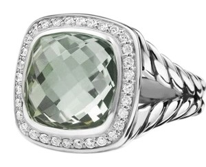David Yurman Albion Ring with Semiprecious stone and Diamonds