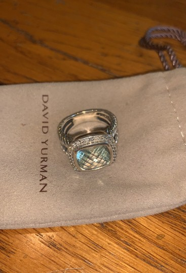 David Yurman Albion Ring with Semiprecious stone and Diamonds Image 2