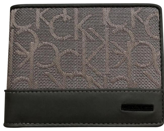 Item - Gray Monogram Wallet