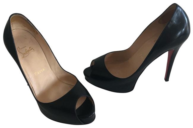 Item - Black Very Prive Platforms Size EU 37 (Approx. US 7) Narrow (Aa, N)