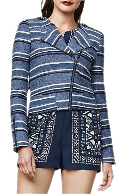 Item - Blue Multi Novak Jacket Size 2 (XS)