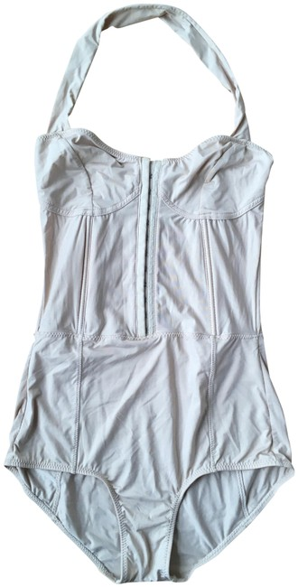 Item - Nude Opening Ceremony Halter Bodice One-piece Bathing Suit Size 4 (S)
