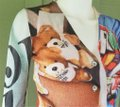 Moschino Multi-color Couture Teddy Bear Print Sweater 38 Cardigan Size 4 (S) Moschino Multi-color Couture Teddy Bear Print Sweater 38 Cardigan Size 4 (S) Image 2