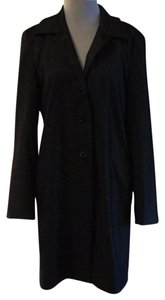 Gianni Chiarini Dry Clean Only Viscose Lining Faille Raincoat