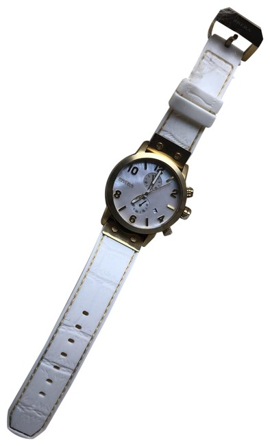 Item - White with Brass Accents Luxury Sport Watch