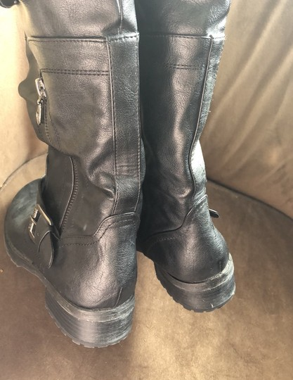 Guess Black Boots Image 5