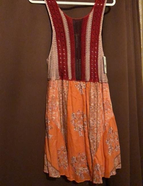 Free People short dress NEW! With TAGSRed Combo on Tradesy Image 4