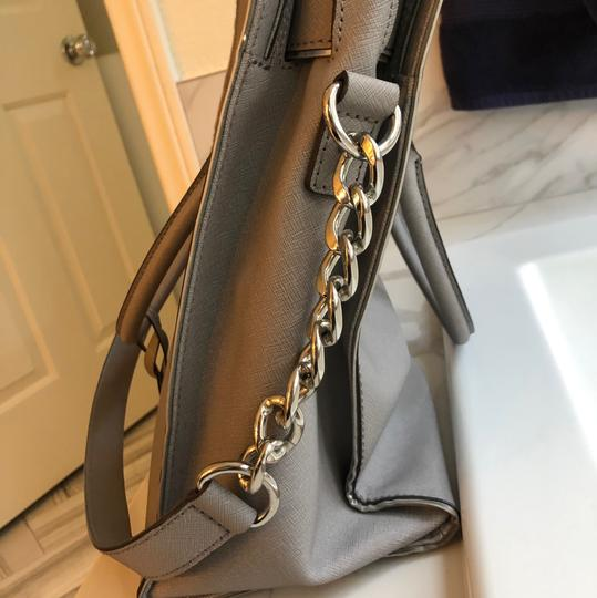 Michael Kors Tote in grey with silver trim Image 1