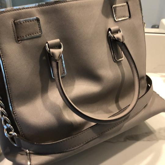 Michael Kors Tote in grey with silver trim Image 8