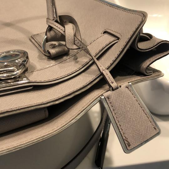 Michael Kors Tote in grey with silver trim Image 9