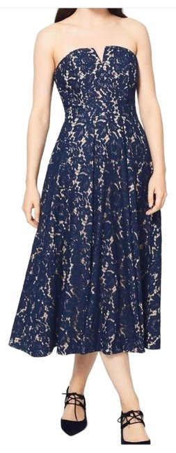 Preload https://img-static.tradesy.com/item/26262800/fame-and-partners-navy-strapless-mid-length-cocktail-dress-size-6-s-0-2-650-650.jpg