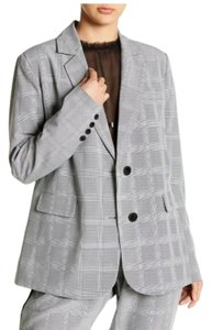 Walter by Walter Baker Oversized Plaid gray Blazer
