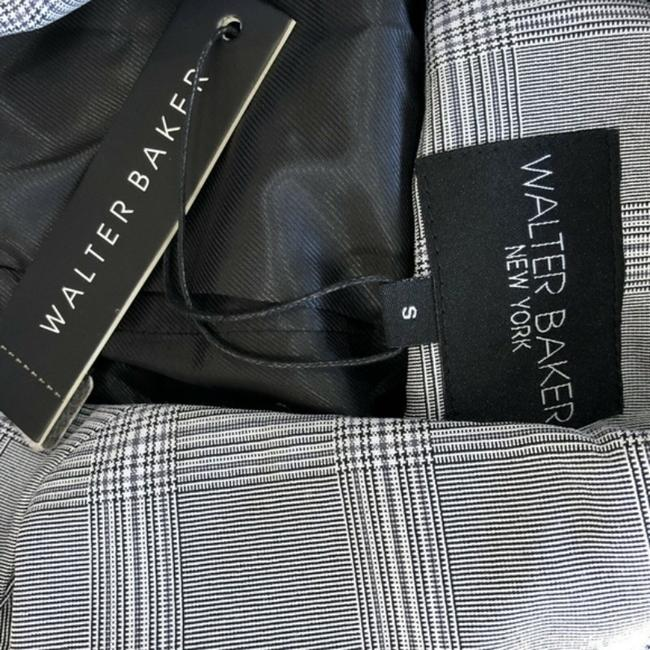 Walter by Walter Baker Oversized Plaid gray Blazer Image 6