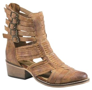 Diba Boho Anklebootie brown Sandals