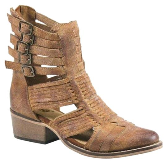 Diba Boho Anklebootie brown Sandals Image 0