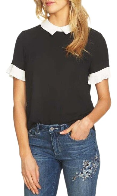 Preload https://img-static.tradesy.com/item/26262843/pleated-sleeve-collared-blouse-size-0-xs-0-1-650-650.jpg
