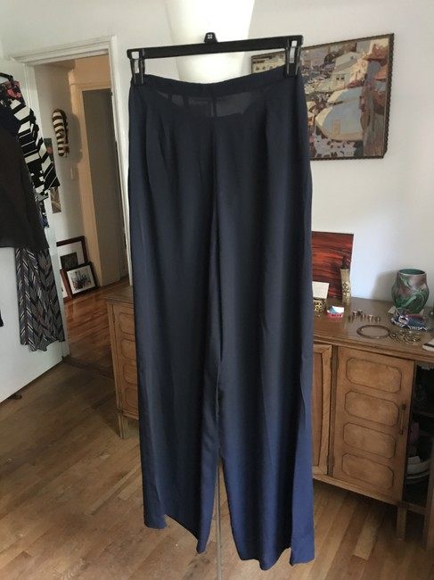 Theory Trouser Pants Deep Navy Image 3