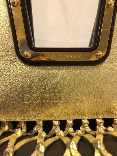 Dolce&Gabbana Tote in Gold Image 3
