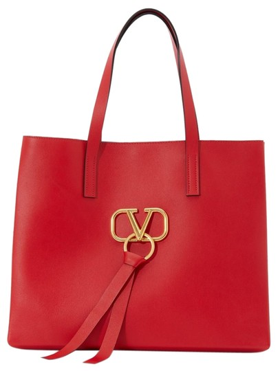 Preload https://img-static.tradesy.com/item/26262865/valentino-shopping-tote-large-v-ring-red-gold-nappa-leather-shoulder-bag-0-1-540-540.jpg