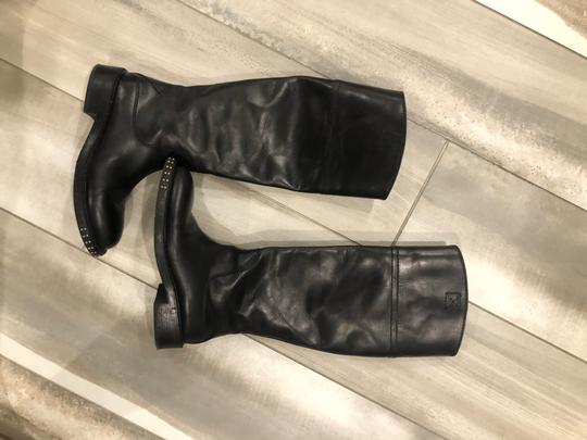 CoSTUME NATIONAL black outside, grey leather inside Boots Image 1
