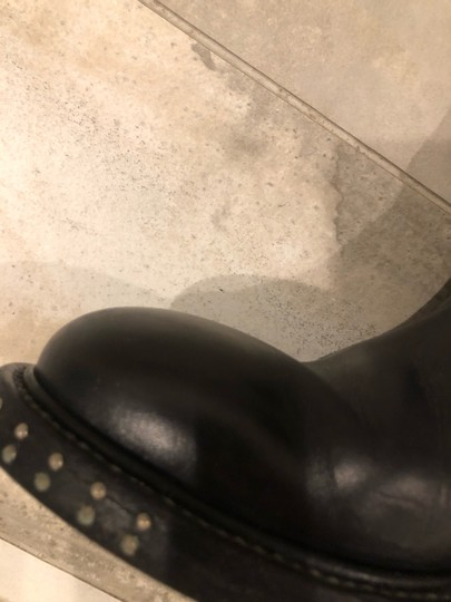 CoSTUME NATIONAL black outside, grey leather inside Boots Image 6