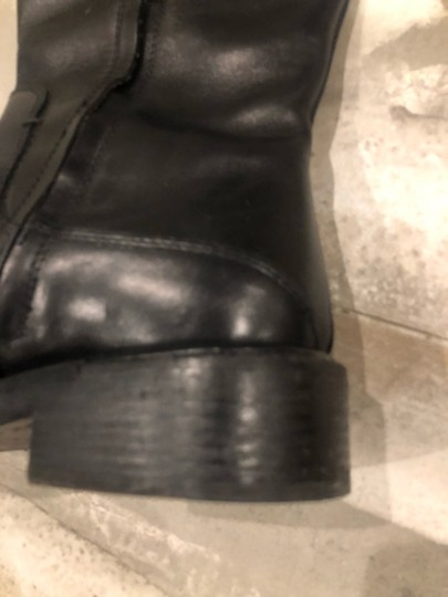 CoSTUME NATIONAL black outside, grey leather inside Boots Image 7