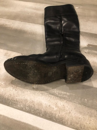 CoSTUME NATIONAL black outside, grey leather inside Boots Image 8