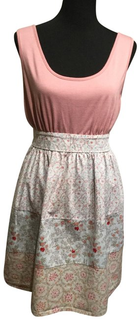 Preload https://img-static.tradesy.com/item/26262958/mossimo-supply-co-pink-and-blue-short-casual-dress-size-16-xl-plus-0x-0-1-650-650.jpg