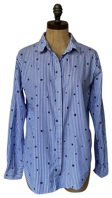 Preload https://img-static.tradesy.com/item/26262965/rails-white-blue-taylor-striped-star-button-down-top-size-6-s-0-2-650-650.jpg