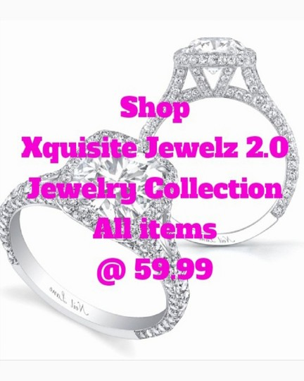 Other PLATINUM PLATED .925 SILVER SWAROVSKI CYSTRALS STUD EARRINGS Image 2